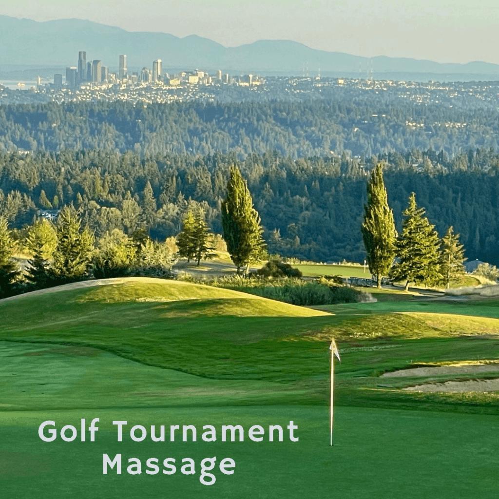 Golf Tournament Massage